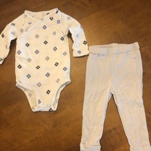 Aden and Anais two piece outfit